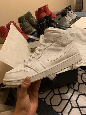 Air Jordan 1 Mid shoes w box size 11 for Sale in Citrus Hills, FL