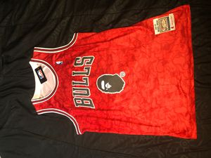 Chicago Bulls x Bape jersey for Sale in Colorado Springs, CO
