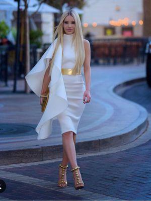 White one shoulder dress by @vestirenmoda for Sale in New York, NY