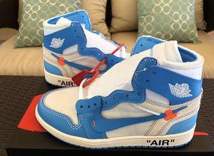UNC Jordan Off White 1 Size 9 for Sale in Alexandria, VA