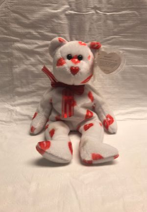 TY Beanie Baby, Smooch, Kissing Bear. for Sale in Great Neck, NY