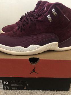 Jordan 12 Bordeaux for Sale in Skokie,  IL