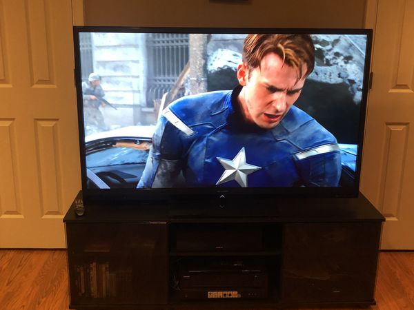 "60"" Sharp Aquos Smart TV w/remote"