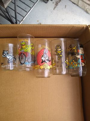 5 collectible glasses for Sale in Tarpon Springs, FL