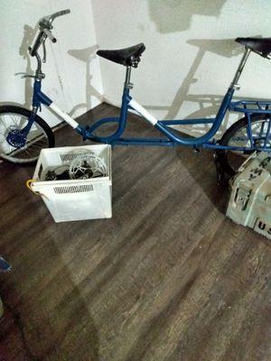 1960s vrevettata italian tandem folding bike all parts are there for Sale in Phoenix, AZ