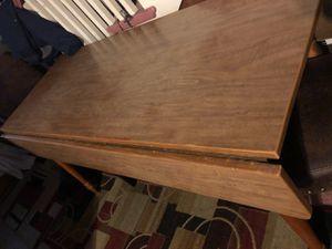WALNUT DROPLEAF TABLE for Sale in Greensboro, NC
