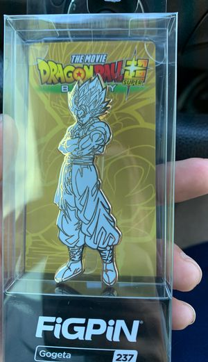 Dragon ball z gogeta limited edition fig pin rare for Sale in Longwood, FL