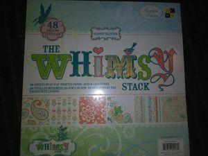 Designer/embossed scrapbook paper/cardstock for Sale in Lodi, CA