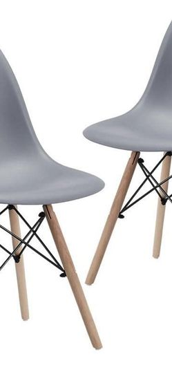 Mid Century style Chairs - Set Of 2 for Sale in Seattle,  WA