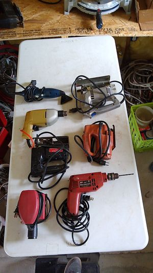 Portable Hand held Wood working power tools for Sale in Prairieville, LA