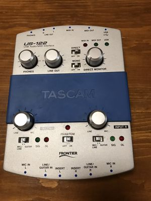 Tascam US-122 2 Channel USB Interface for Sale in Centre Hall, PA