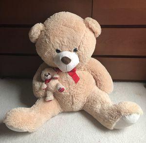 Teddy bear - 3 ft tall for Sale in Woodstock, GA