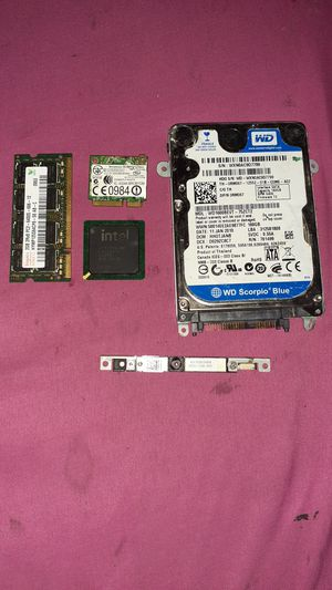 Make offer Laptop harddrive and camera ect. for Sale in Houston, TX