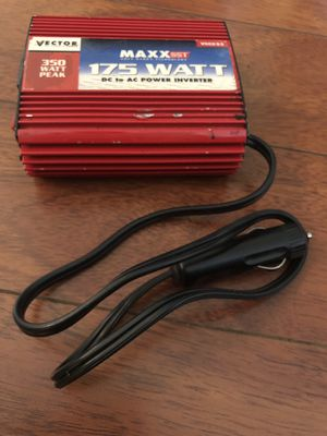 175 W DC to AC power inverter - Plugs into car lighter for standard two or three prong plugs for Sale in Los Angeles, CA
