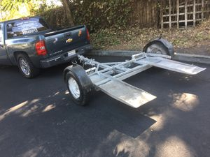 Car trailer/Dolly ready to tow anywhere! Swivel action style! $650 or trades welcomed for Sale in Stockton, CA
