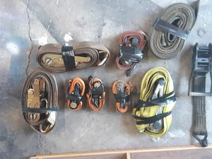 Assorted ratchet straps for Sale in Petersburg, IN