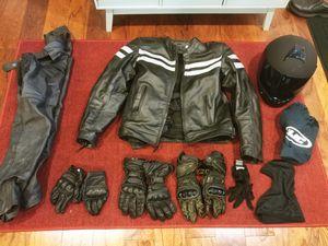 Assortment motorcycle gear - like new for Sale in Tukwila, WA