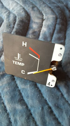 TOYOTA TRUCK TEMPERATURE GAUGE HARD PART TO FIND ASKING 50 OBO for Sale in Los Angeles, CA