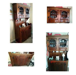 Rustic Kitchen Hutch for Sale in Camden, NC