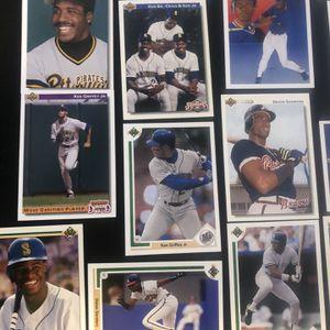1990's UPPER DECK Baseball Card Lot ⚾️ Griffey - Bonds - Bo - Deion - Nolan Ryan for Sale in Pompano Beach, FL