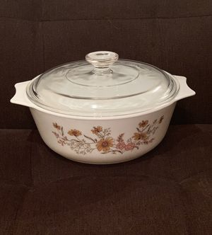 Pyrex England Bowl with Lid—Woodland Pattern for Sale in Vienna, VA