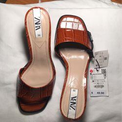 ZARA Sandals-size 8. Brand new $30 for Sale in Miami,  FL