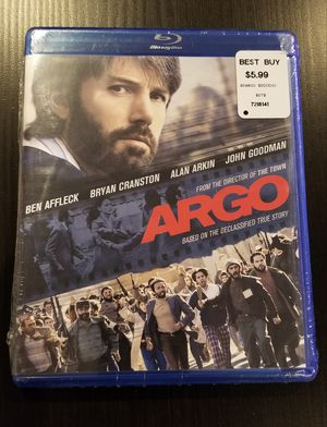 Argo Bluray (New) - Ben Affleck for Sale in Dallas, TX