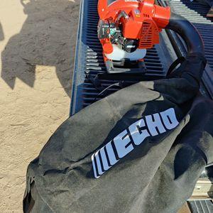 ECHO 165 MPH 391 CFM 25.4 cc Gas 2-Stroke Cycle Leaf Blower Vacuum for Sale in Hesperia, CA