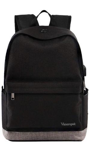 "Vancropak 15.6"" Laptop Backpack, Black for Sale in Leawood, KS"