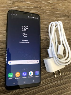 Like New! Unlocked Samsung Galaxy S8 ~ AT&T, T-Mobile, MetroPCS for Sale in Costa Mesa, CA