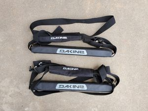 Dakine Surfboard Roof Rack Pads & Straps Sports Equipment Ski Snowboard Car SUV for Sale in El Cajon, CA