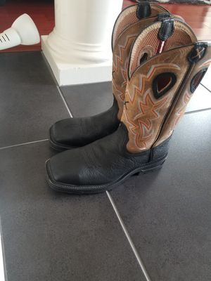 Ariat Steel Toe work Boot 9 1/2 D for Sale in El Paso, TX