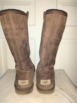 Women's size 6 UGG tall zipper boots for Sale in Denver, CO