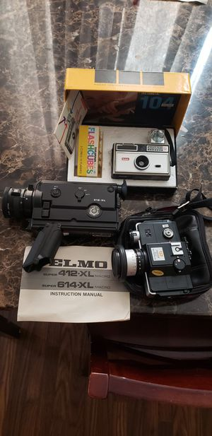 Super 8 Camcorder Lot for Sale in Fort Worth, TX