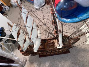 Antique wooden ship for Sale in Fontana, CA