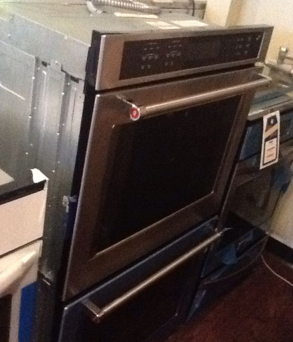 New open box kitchen aid electric double oven KODE500ESS