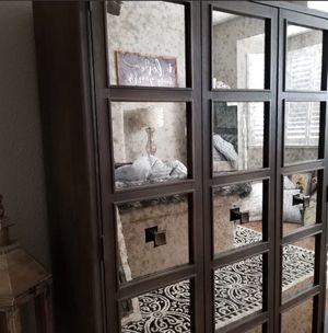 Gorgeous antique mirror panel armoire for Sale in Atlanta, GA
