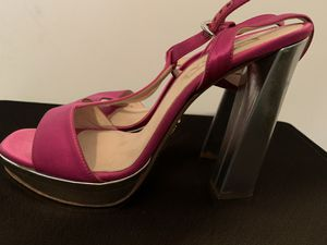 Prada Gorgeous pink and silver heels for Sale in Falls Church, VA