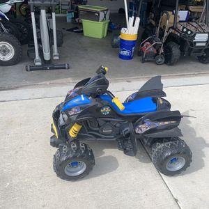Batman Power wheel for Sale in Wimauma, FL