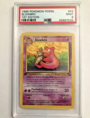 1st edition Pokémon Slobro PSA 9 for Sale in Livermore, CA