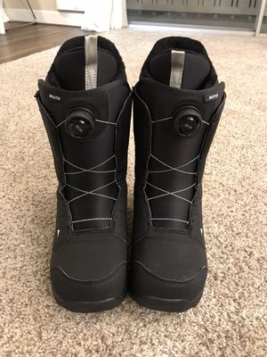 Burton Moto snowboarding boots. Mens size 10. for Sale in Foster City, CA