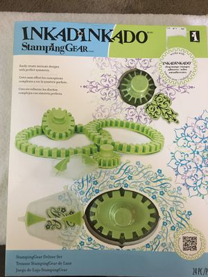 INKADINKADO STAMPING GEAR DELUXE SET 24 PC for Sale in Clovis, CA