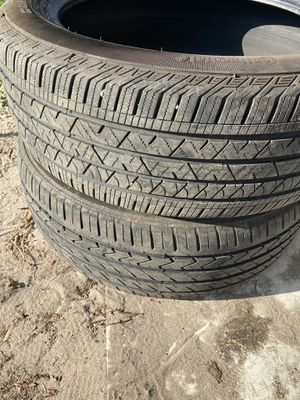 245/50/20 tires 80% tread left for Sale in Plant City, FL