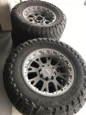 Moto Metal Rims/ Open Country Tires for Sale in Arroyo Grande, CA