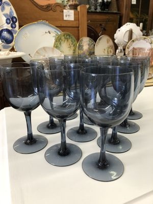 Mid century Wine glasses set of 12 for Sale in La Mesa, CA