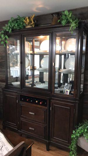 Ashley Furniture hutch for Sale in Chippewa Falls, WI