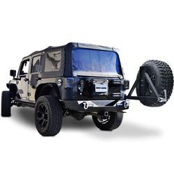 Rear Bumper with Tire Carrier For Jeep Wrangler for Sale in Arlington,  TX