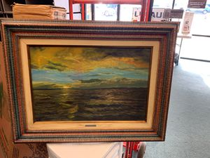 Original sunset painting for Sale in Portsmouth, VA