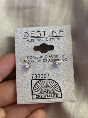 Starr shape Diamond earrings for Sale in Fresno, CA
