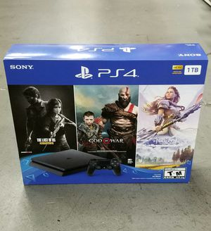 PLAYSTATION 4. 1TB. Three game bundle. Brand New for Sale in Virginia Gardens, FL